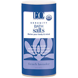 EO Products, Serenity Bath Salt, French Lavender, 623.7g