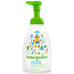 Babyganics, Foaming Dish and Bottle Soap, Fragrance Free, 473ml