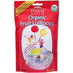 Yummy Earth, Organic Fruit Lollipops, 15 Lollipops, 85g