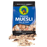 The Muesli Company, Premium Muesli, Full of Fruit, 750g