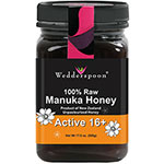 Wedderspoon, 100% Raw Manuka Honey, Active 16+, 500g