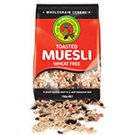 The Muesli Company, Toasted Muesli, Wheat Free, 750g