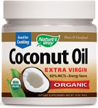 Nature's Way, Organic Coconut Oil, 454g