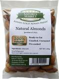 Natural Foods, Pre-soaked Almonds Snack, 100g