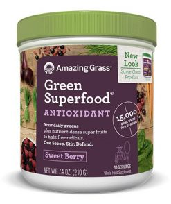 Amazing Grass Green Superfood Antioxidant Sweet Berry