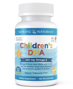 Nordic Naturals Children DHA 180 Softgels