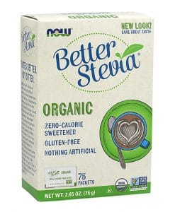 Now Organic Better Stevia Sweetener