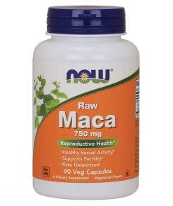 Now Raw Maca 750mg 90 Capsules