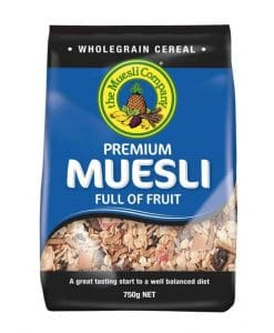 The Muesli Company Premium Muesli Full of Fruit