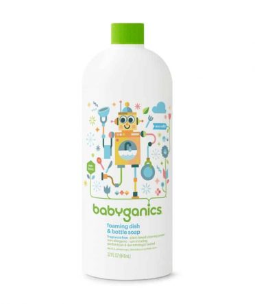 Babyganics bottle soap refill