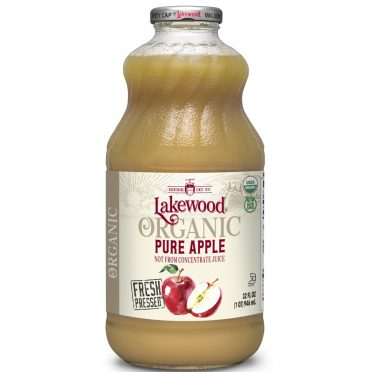 Lakewood Organic Apple Juice 32oz