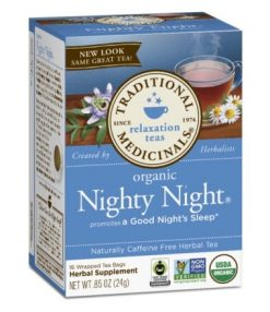 Nighty night relaxation tea