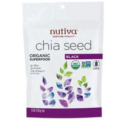 Nutiva black chia seeds 6oz