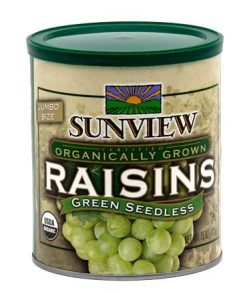Sunview Organic Green Raisins