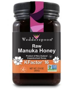 wedderspoon manuka honey kfactor16