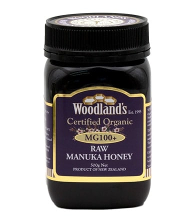 Woodlands Organic Manuka Honey MG100