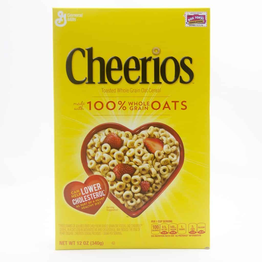 General Mills, Cheerios Whole Grain Oat Cereal