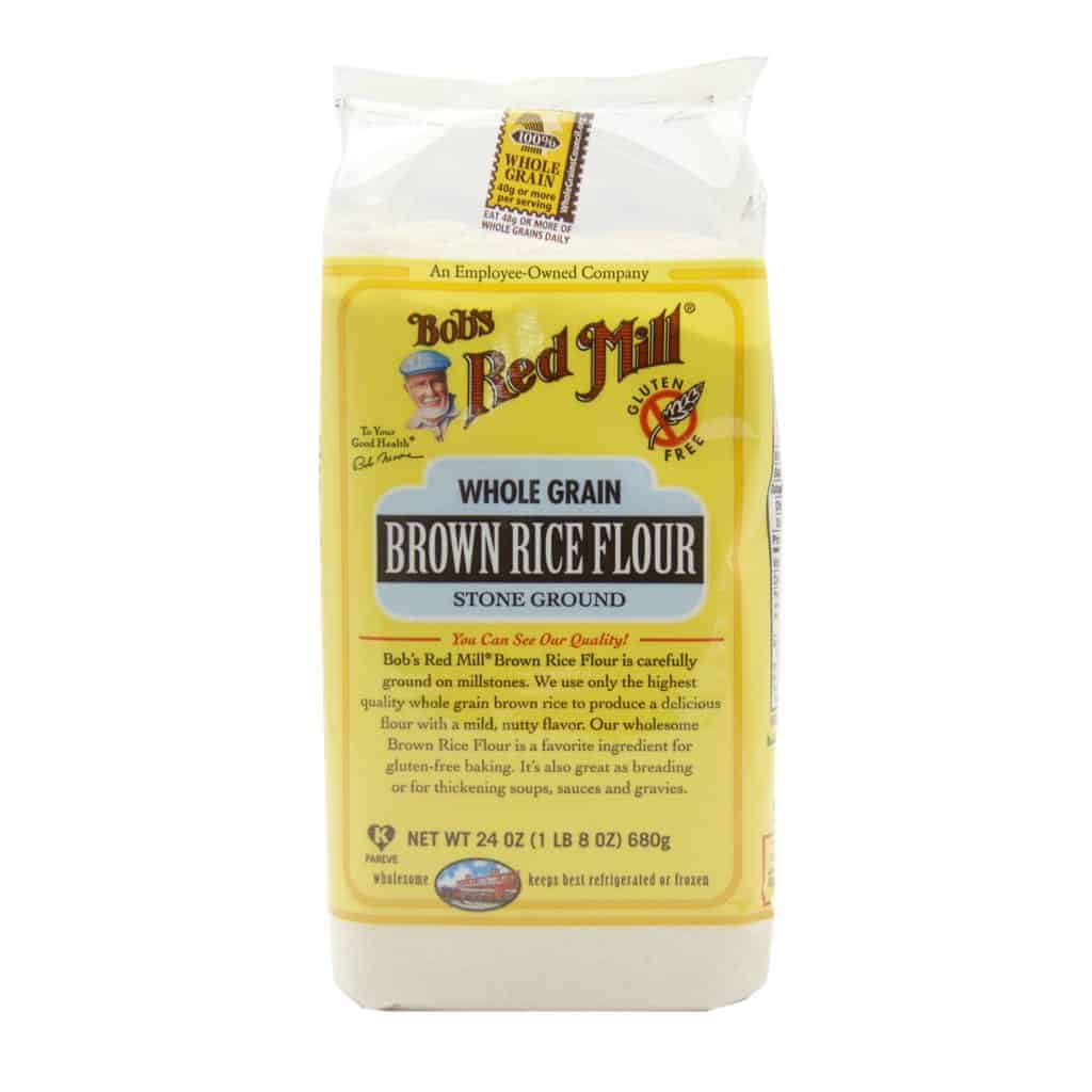 Bob's Red Mill, Brown Rice Flour, Gluten Free, 680g Red Rice Flour
