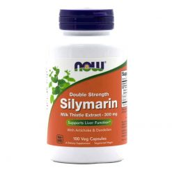 NOW Double Strength Silymarin 300mg