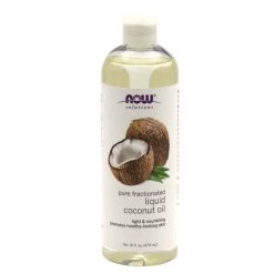 Now Fractionated Liquid Coconut Oil