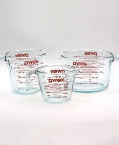 Pyrex Glass Measuring Cups Set