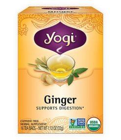 Yogi Ginger Tea for digestion