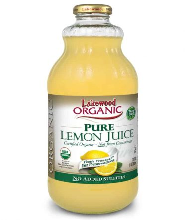 Lakewood Organic Pure Lemon Juice