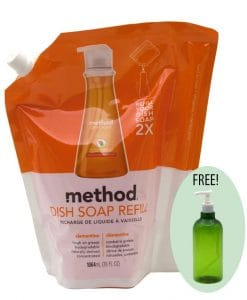 Method Dish Soap Refill Clementine 32oz
