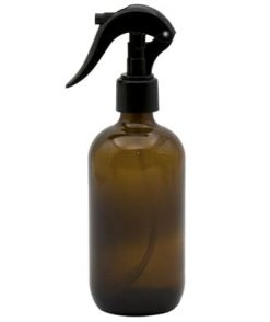 Amber glass spray bottle 250ml