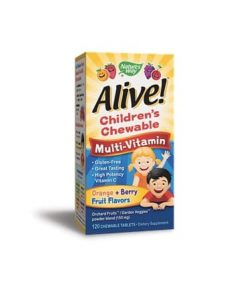 Natures Way Alive Children Chewable Multi-Vitamin