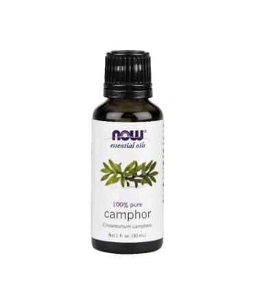 Now pure camphor essential oil