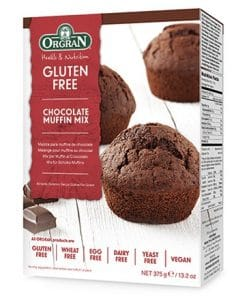 Orgran Chocolate Muffin Mix