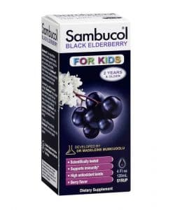 Sambucol Black Elderberry Syrup For Kids 120ml