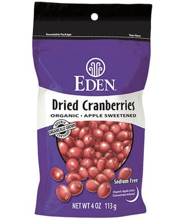 Eden Dried Cranberries