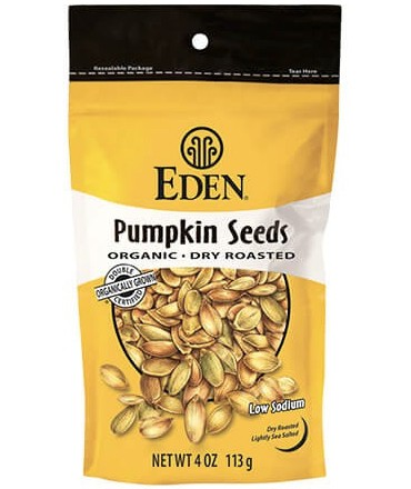 Eden Dry Roasted Pumpkin Seeds