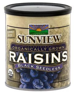 Sunview Black Seedless Raisins